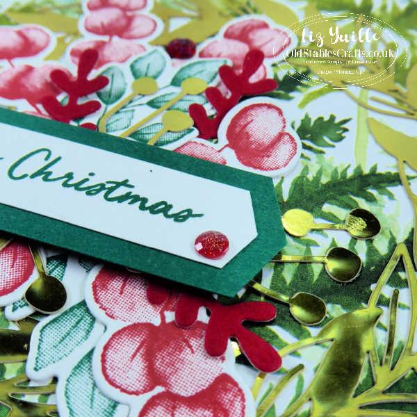 Forever Fern Christmas Card OldStablesCrafts.co.uk
