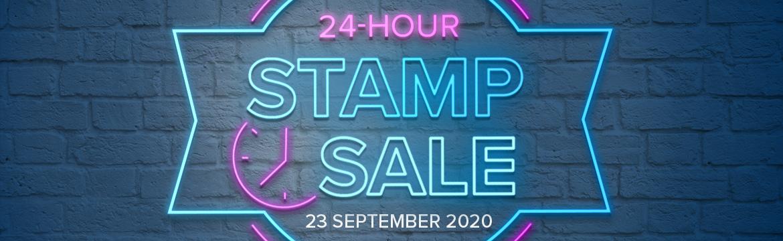 24 Hour Stamp Flash Sale OldStablesCrafts.co.uk