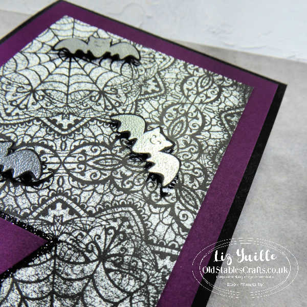 #SimpleStamping Saturday - Happy Haunting with Banner Year Bundle OldStablesCrafts.co.uk