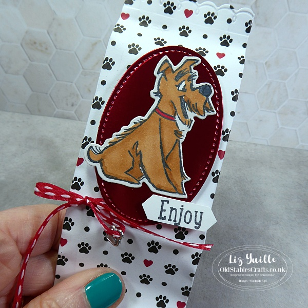 Playful Pets Treat Bag for #SSS OldStablesCrafts.co.uk