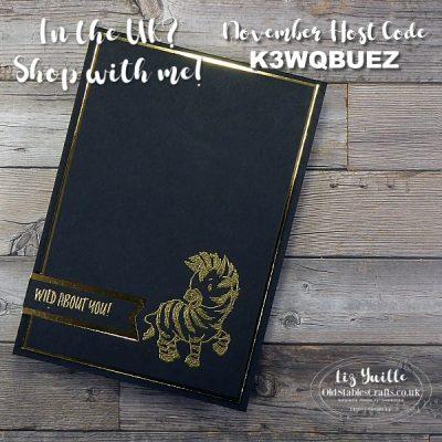 Team Craftoberfest – Zany Zebra