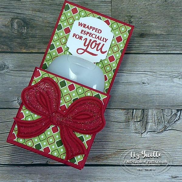 How to Make a Hand Sanitiser Gift Pack oldstablescrafts.co.uk