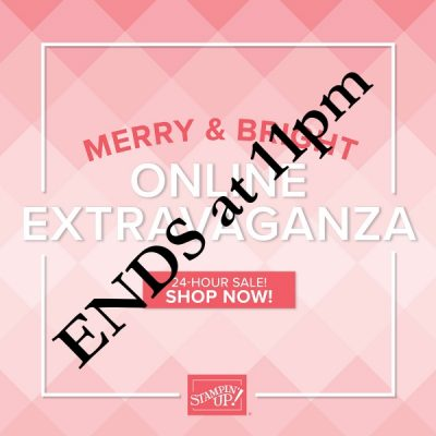 Merry & Bright Extended Promotion ENDS in just THREE HOURS!!