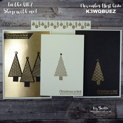 #SimpleStamping Saturday – Tree Angle