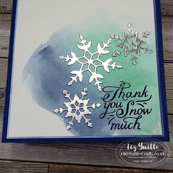 Snowflake Wishes Facebook Live OldStablesCrafts.co.uk