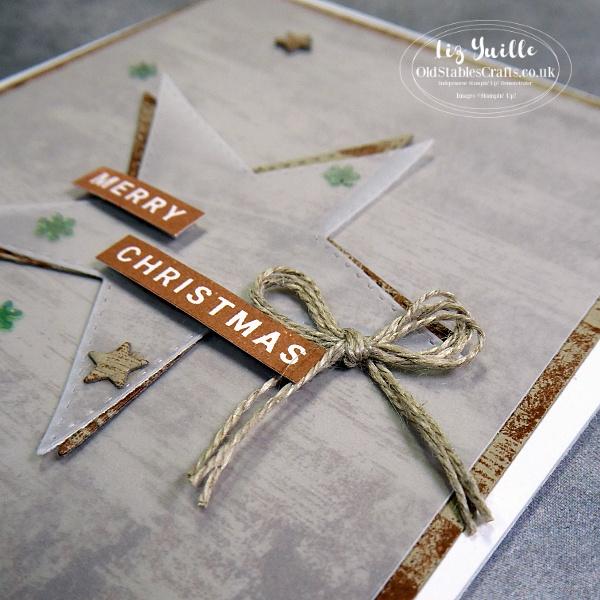 Stitched Stars Dry Brush OldStablesCrafts.co.uk
