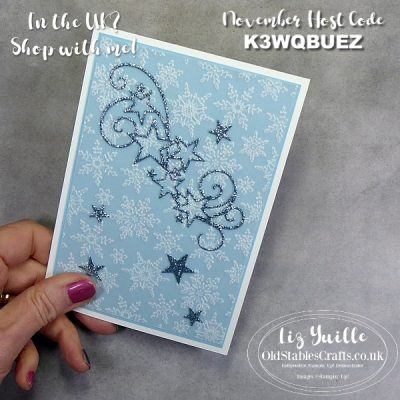 Facebook Live Replay – 24th November 2020 – Snowflake Splendour and Stitched Stars