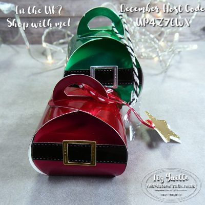 Santa and Elf Gift Boxes for The Spot Challenge #141 – Last Minute Gift Ideas