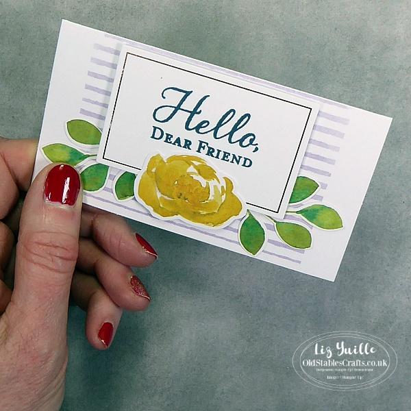 Stampin Up Hello Dear Friend Kit OldStablesCrafts.co.uk