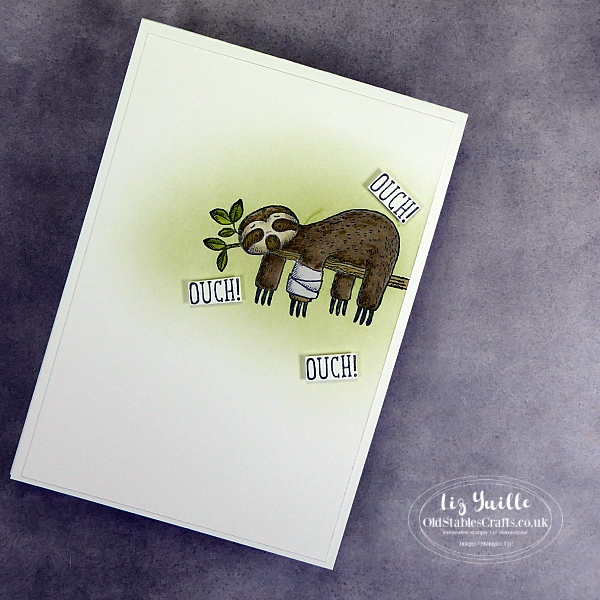 Back on Your Feet Get Well Card OldStablesCrafts.co.uk