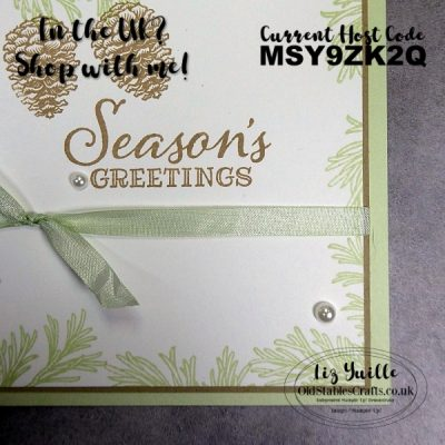 Peaceful Boughs for Stampin' for Christmas