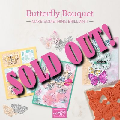 Butterfly Bouquet Class in the Mail SOLD OUT!!