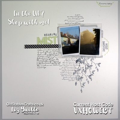 Scrapbooking Morning Mist with Retiring and Carry Over Products