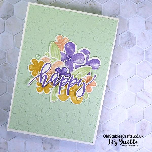 Pretty Perennials Pastel Happy OldStablesCrafts.co.uk