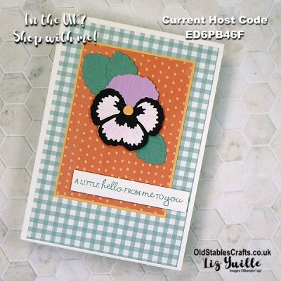 Frantic Friday with Stampin' Up! Pansy Petals Suite
