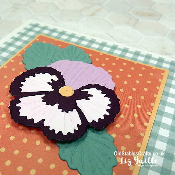 Frantic Friday with Stampin' Up! Pansy Petals Suite OldStablesCrafts.co.uk