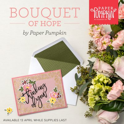 The Clearance Rack Has Been Updated AND The Bouquet of Hope Paper Pumpkin is HERE!!