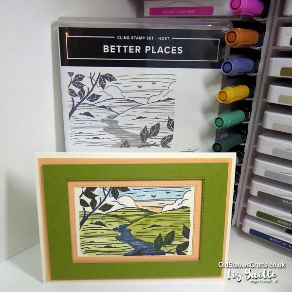 #SimpleStamping Better Places OldStablesCrafts.co.uk