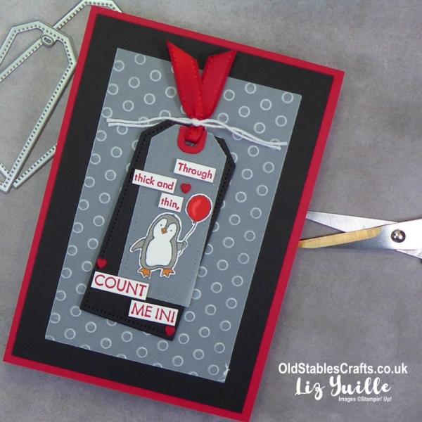 Count on Me Penguin OldStablesCrafts.co.uk