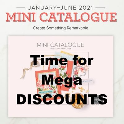 Time for Mega Discounts on the Mini Catalogue OldStablesCrafts.co.uk