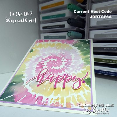Spiral Dye – New Sneak Peak from Stampin' Up!