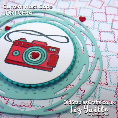 YouTube Live Crafting REPLAY with Liz – Sweet Farewell