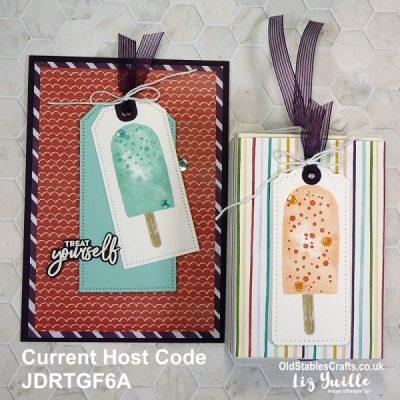 Sweet Ice Cream Card and Treat Box Gift
