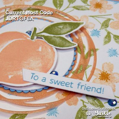 Sweet As A Peach – Make Your Own Patterned Paper