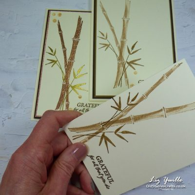 #SimpleStamping Saturday Featuring – Bamboo Beauty