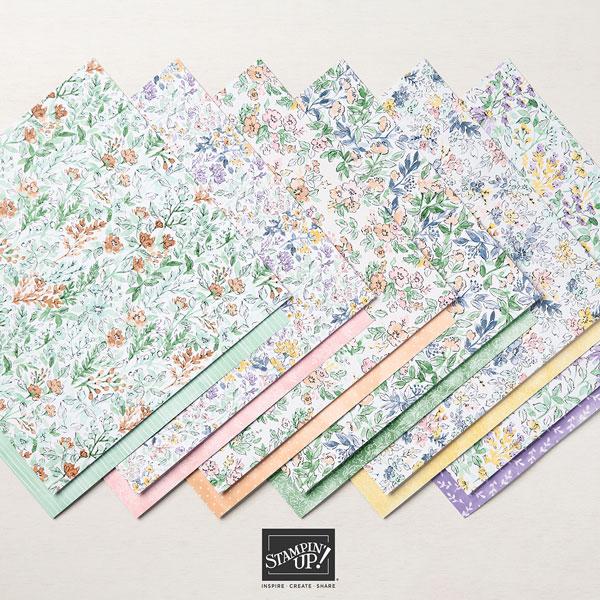 Hand Penned Designer Series Paper OldStablesCrafts.co.uk