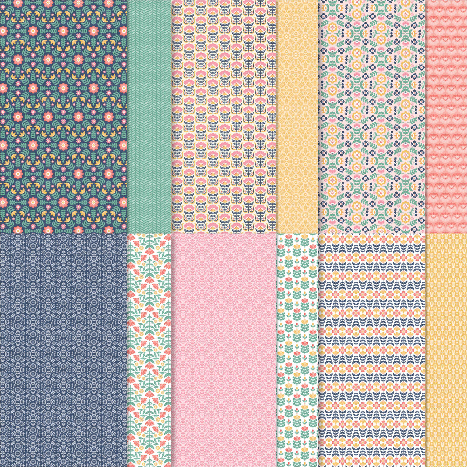 Sweet Symmetry Designer Series Paper OldStablesCrafts.co.uk