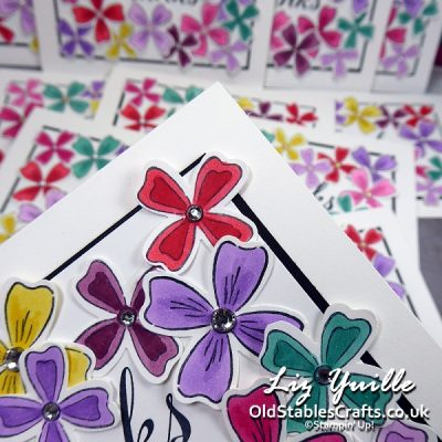 Flowers of Friendship Customer Thank You Cards