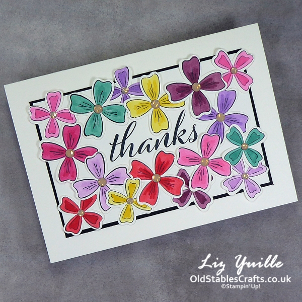 Flowers of Friendship Customer Thank You Cards OldStablesCrafts.co.uk