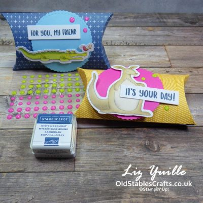 YouTube Live Crafting REPLAY with Liz – Let's Party Treat Packaging Kit