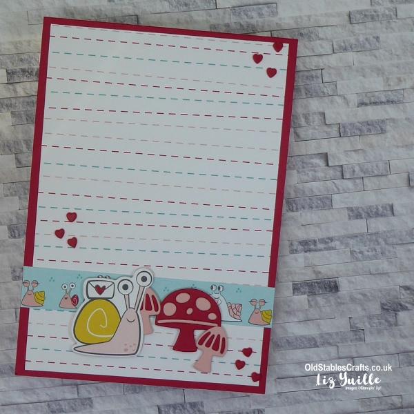 Snail Mail Patterned Paper OldStablesCrafts.co.uk