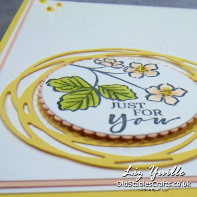 Sweet Strawberry Floral for Stampers Showcase Blog Hop