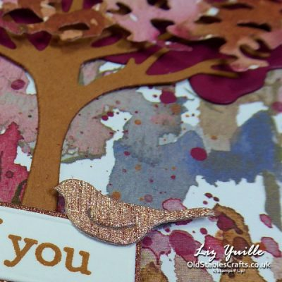 Beauty of Friendship card Featuring Designer Series Paper