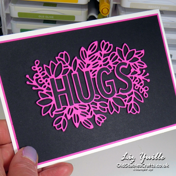 Layering Hugs Customer Kit OldStablesCrafts.co.uk