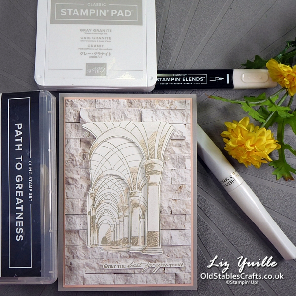 #simplestamping Saturday Path to Greatness OldStablesCrafts.co.uk