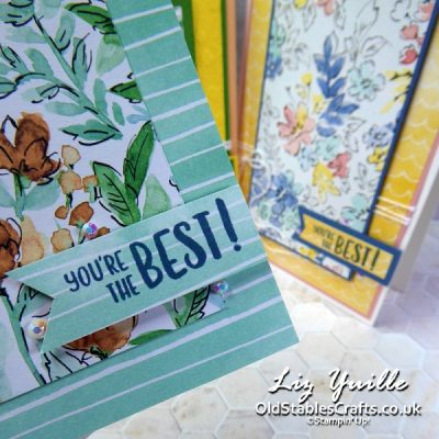#SimpleStamping Saturday – Hand-Penned Paper
