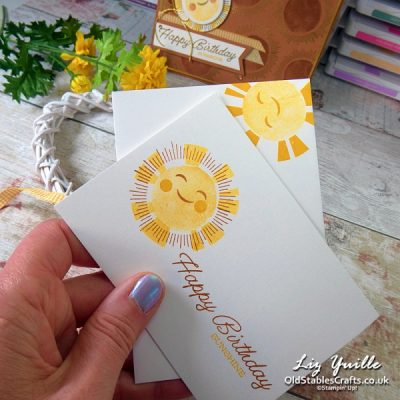 #SimpleStamping Saturday – Sharing Sunshine