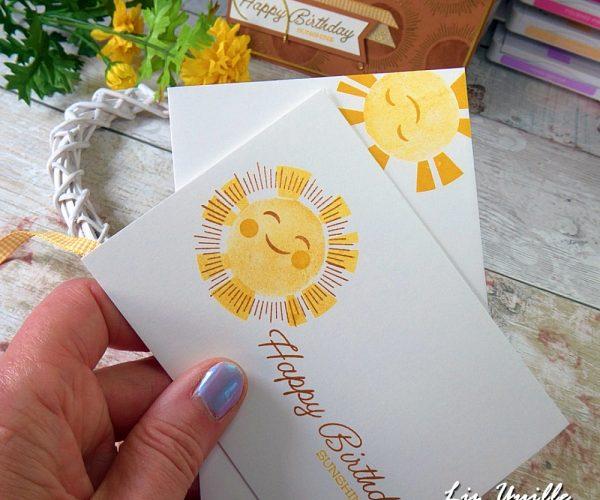 Sharing Sunshine for #Simplestamping Saturday OldStablesCrafts.co.uk