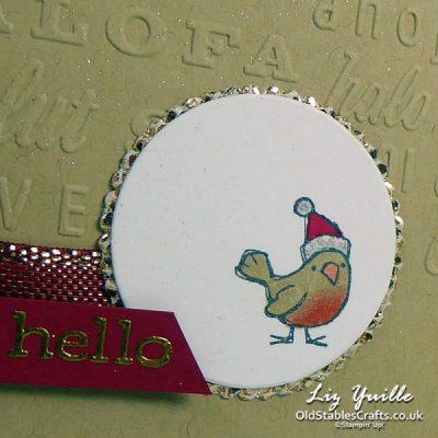 Be Jolly Little Robin!