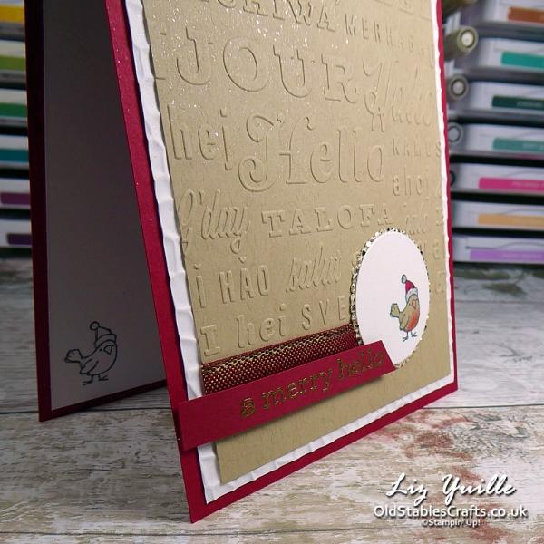 Be Jolly Robin OldStablesCrafts.co.uk