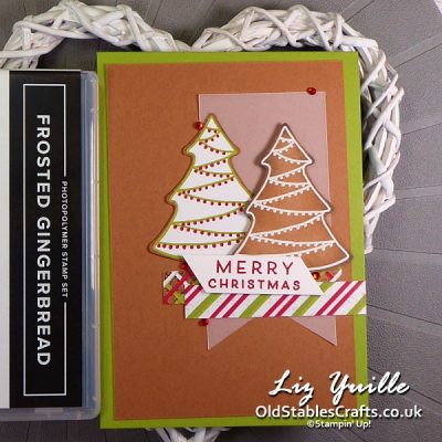 July Customer Craft Kits – Gingerbread & Peppermint