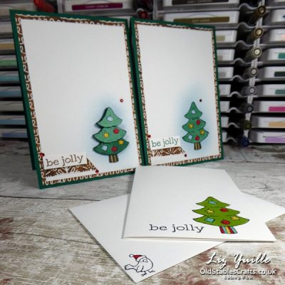 #SimpleStamping Saturday with Be Jolly