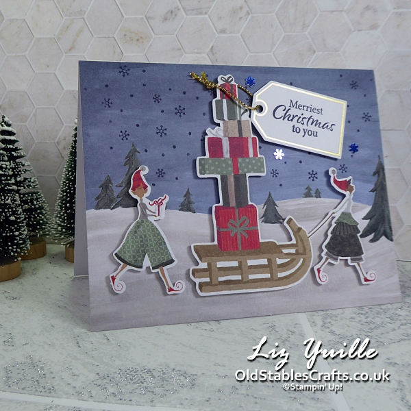 Christmas Whimsy Card Kit Stampin Up OldStablesCrafts.co.uk