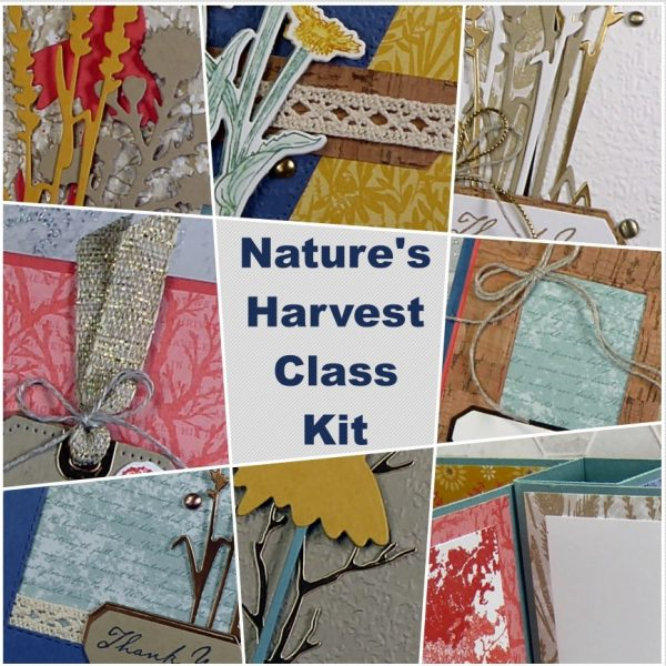 Natures Harvest Stampin Up Class Kit OldStablesCrafts.co.uk