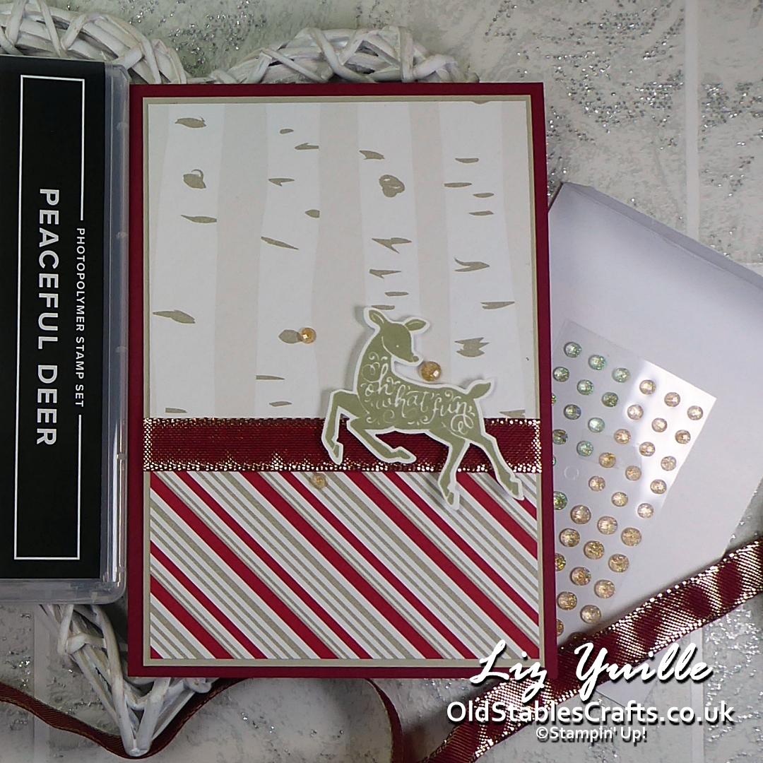Peaceful Prints and Peaceful Deer Card OldStablesCrafts.co.uk
