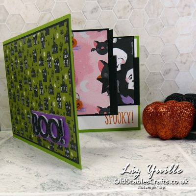 Stampers Showcase Blog Hop – Fancy Fold Cute Halloween